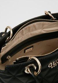 Guess - LAIKEN SMALL SATCHEL - Handbag - black - 4