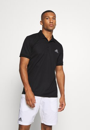 AEROREADY SPORTS TENNIS SHORT SLEEVE - Funkční triko - black