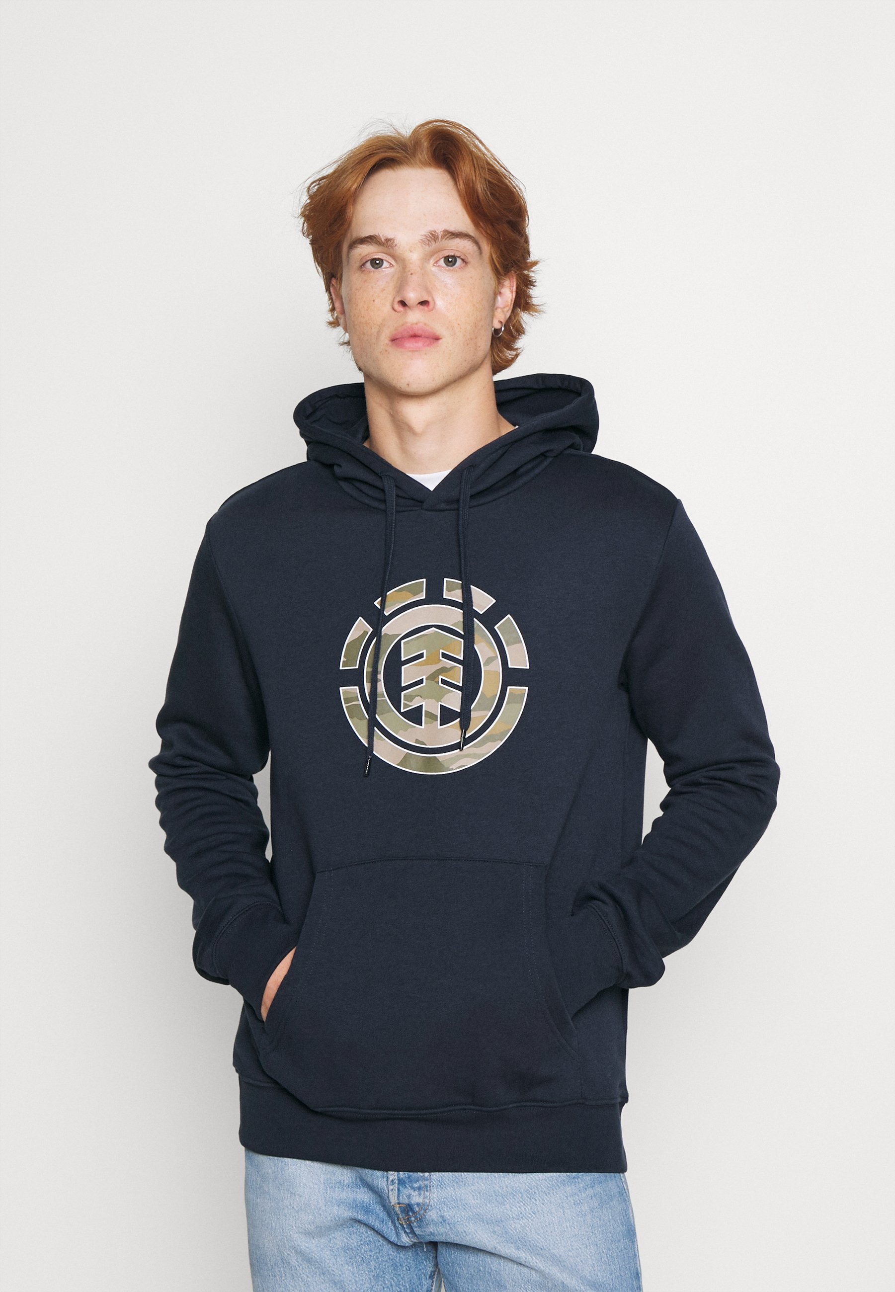 Homme LANDSCAPE CAMO HOOD - Sweatshirt