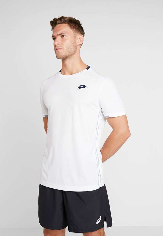 SQUADRA TEE  - Print T-shirt - brilliant white