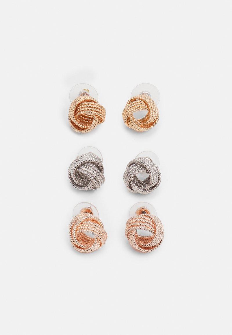 ALDO - JERAEVIAN 3 PACK - Earrings - metallic multi