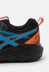 ASICS - GEL SONOMA 6 - Trail running shoes - black/digital aqua - 5