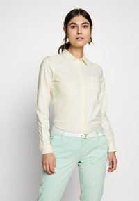Springfield - CAMI OXFORD - Chemisier - yellow - 0