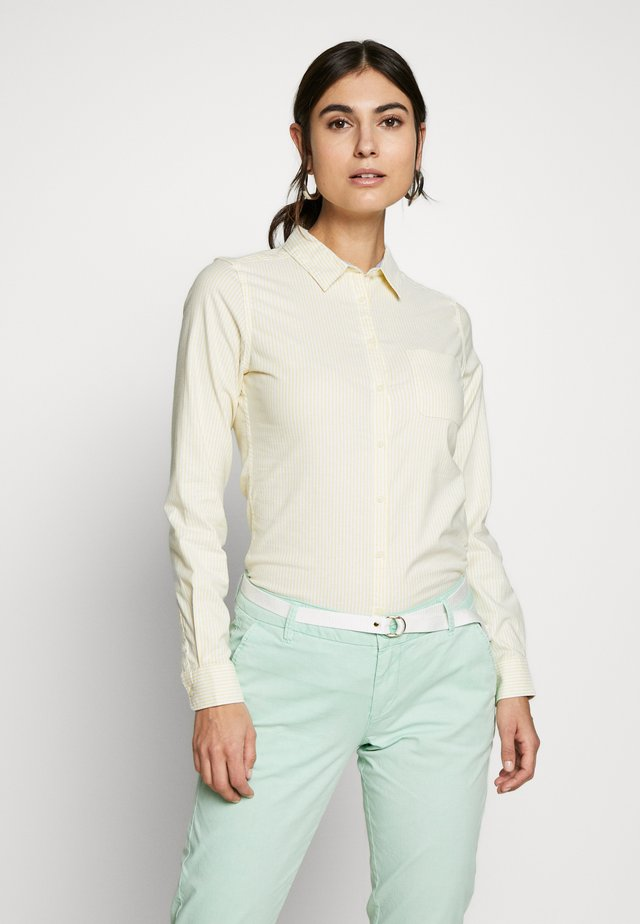 CAMI OXFORD - Overhemdblouse - yellow