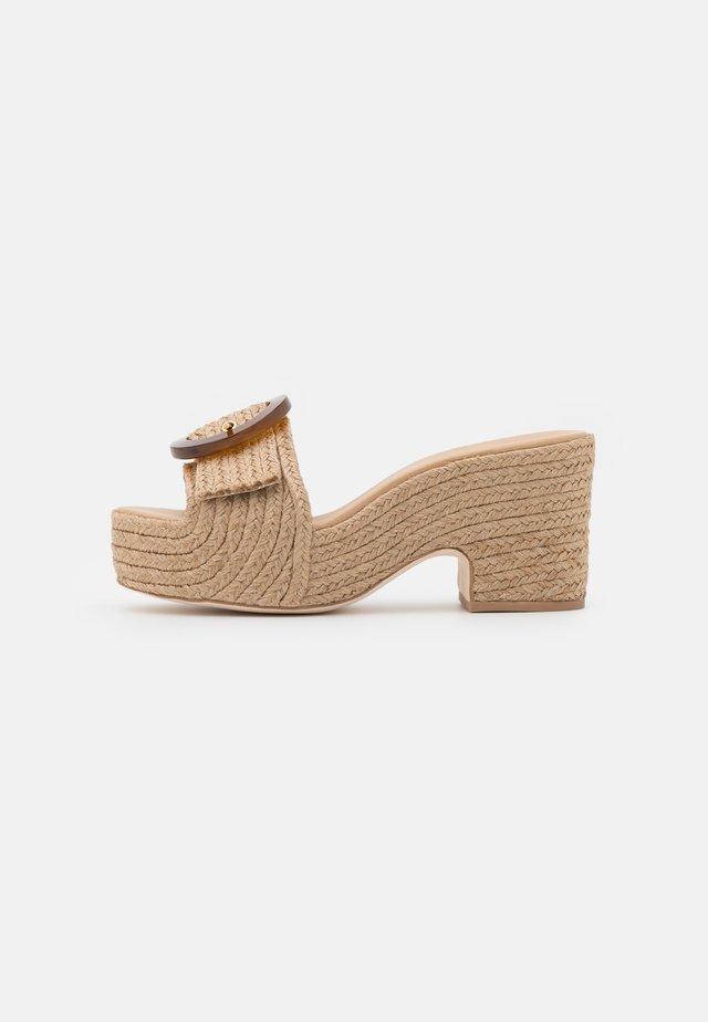 CLEIA PLATFORM - Sandaler - natural