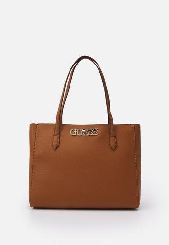 UPTOWN CHIC ELITE TOTE - Handbag - cognac