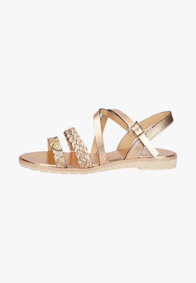 Sandals - copper