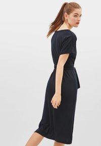 Bershka - MIT SCHLEIFE - Day dress - black - 2