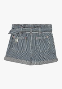 Polo Ralph Lauren - PAPERBAG BOTTOMS - Shorts - dark blue denim - 1