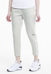Puma - Trainingsbroek - puma white heather - 0