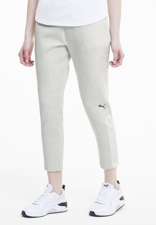Puma - Trainingsbroek - puma white heather