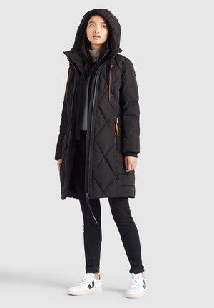 ELESSA - Winter coat - schwarz