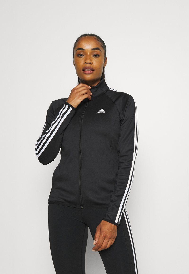 adidas Performance - Kurtka sportowa - black/white