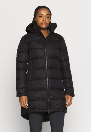 W METROPOLIS PARKA III - Down coat - black