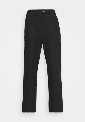 LOUELLE TROUSER - Pantalones - black