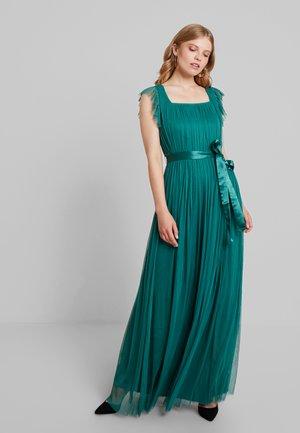 Suknia balowa - emerald