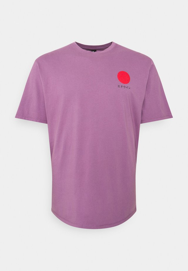 JAPANESE SUN  - T-shirt con stampa - violet