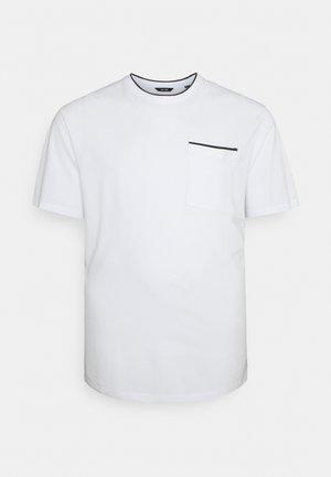 ONSABRAM LIFE TEE - Camiseta básica - white