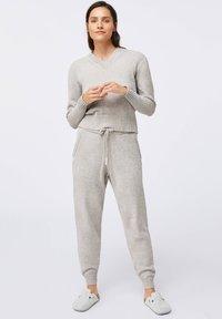 OYSHO - Pyžamový spodní díl - grey - 1