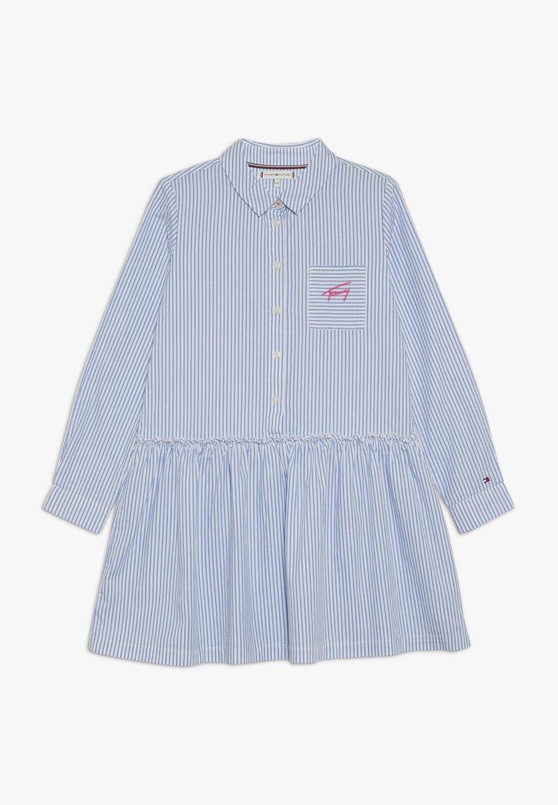 Tommy Hilfiger - ITHACA SHIRT DRESS - Košilové šaty - white