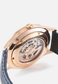 Emporio Armani - Watch - rosegold-coloured/blue - 2