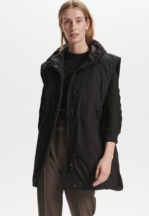 SLMONTREAL WAISTCOAT OUTERWEAR - Waistcoat - black