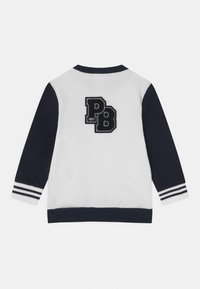 Petit Bateau - Zip-up hoodie - marshmallow/smoking - 1