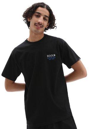 MN POPPY FIELD SS - Print T-shirt - black