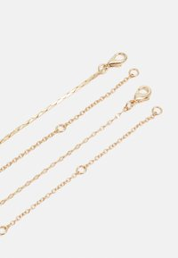 Topshop - PAVE ROW 2 PACK - Necklace - gold-coloured - 1