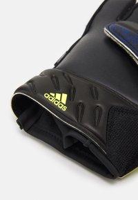 adidas Performance - UNISEX - Goalkeeping gloves - black/royblu/syello/w - 2