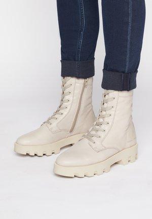 PILAR  - Platform ankle boots - taupe