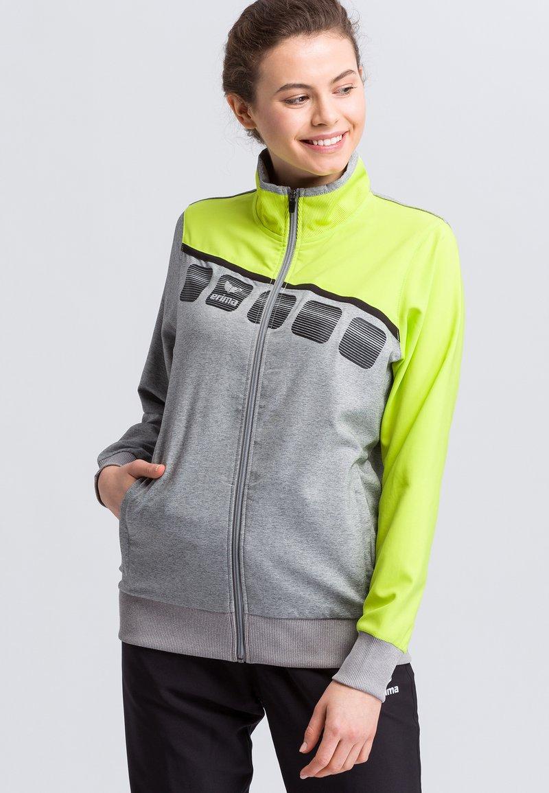 Erima - Sports jacket - grey/green