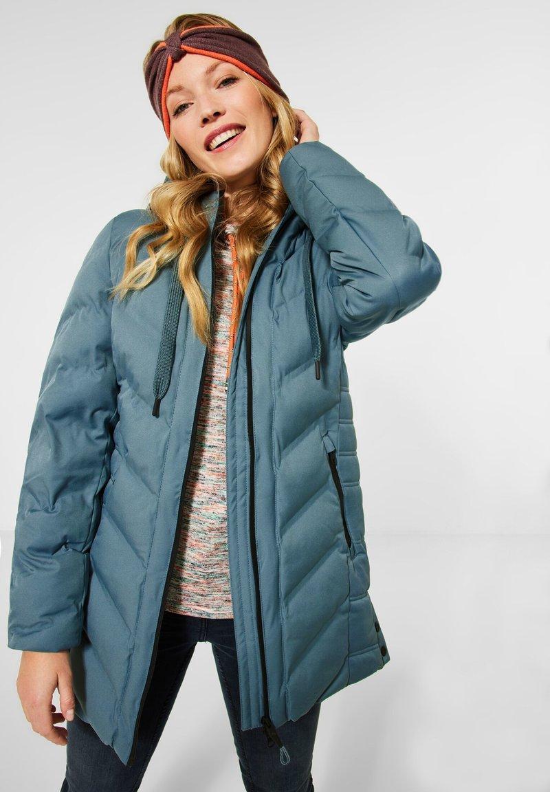 Cecil - MIT STEPPUNG - Winter coat - grün