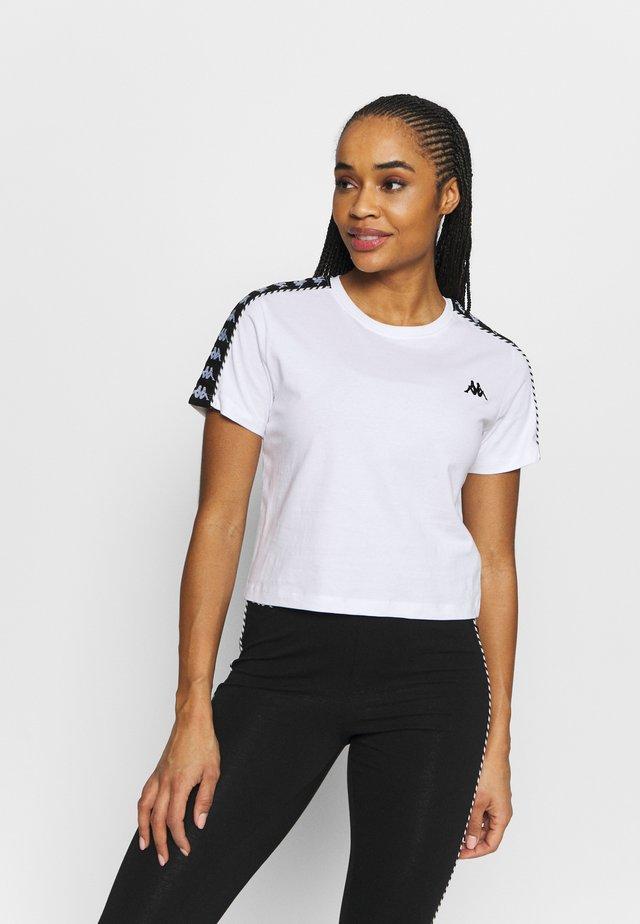 INULA - T-shirt con stampa - bright white
