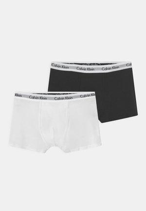 TRUNKS 2 PACK - Panties - black/white
