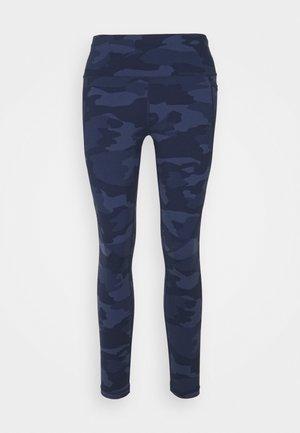 POWER 7/8 WORKOUT LEGGINGS - Legging - navy blue