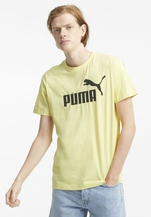 ESSENTIALS LOGO MAND - Print T-shirt - yellow pear