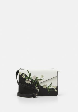 FARZANE ELDERFLOWER XBODY BAG - Skuldertasker - black