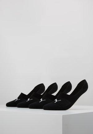 FOOTIE UNISEX 4 PACK - Trainer socks - black