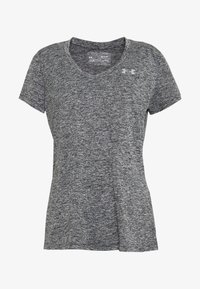 Under Armour - TECH TWIST - Camiseta de deporte - black/metallic silver - 3