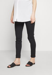 Missguided Maternity - OVER BUMP VICE SUPERSTRETCHY - Jeans Skinny Fit - black - 0