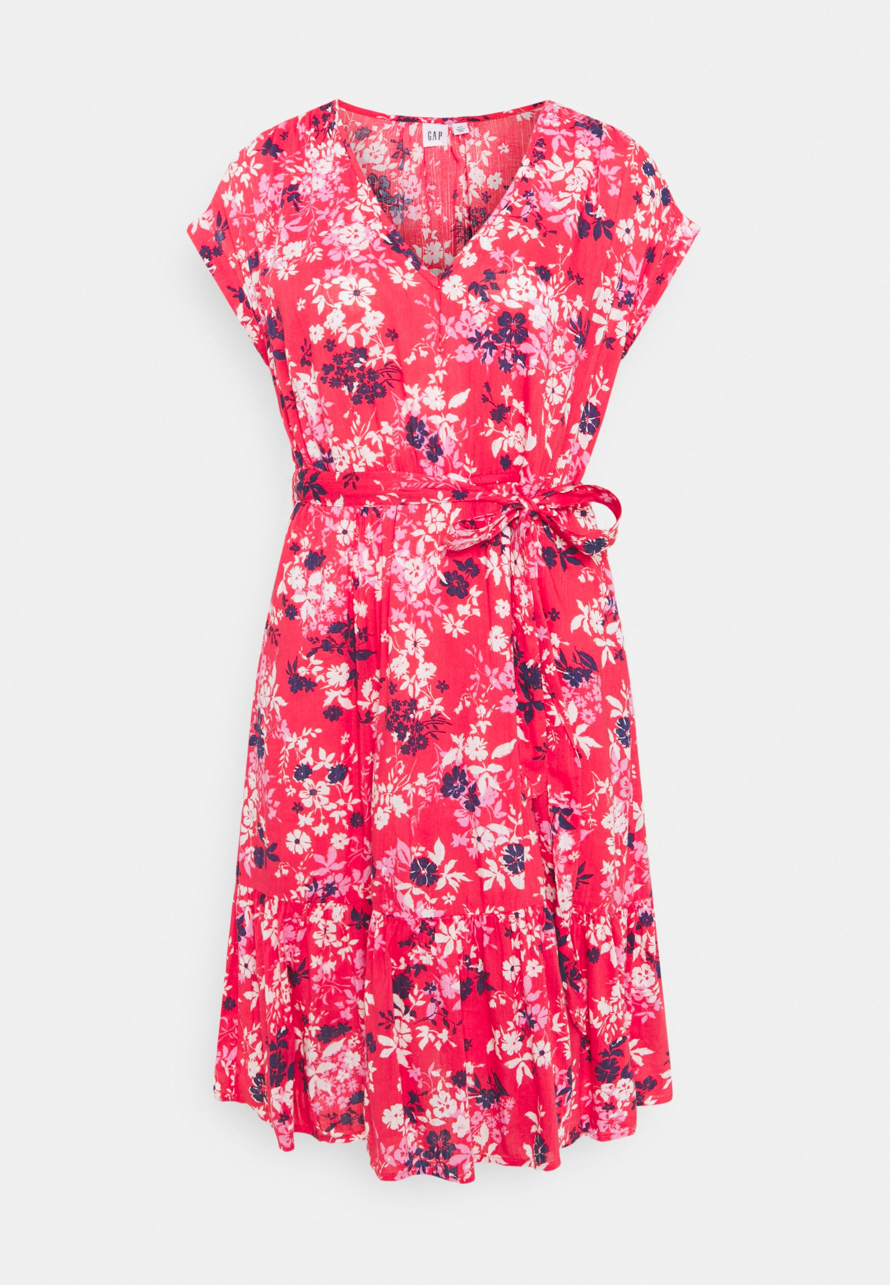 Women TIE WAIST DRESS - Day dress