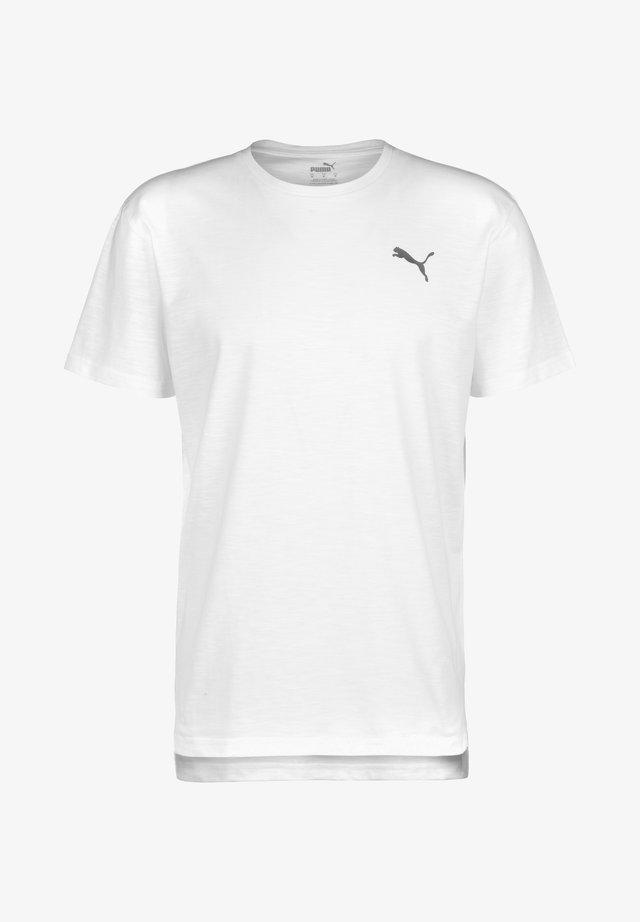 ENERGY  TRAINING TEE MAND - T-Shirt basic - white