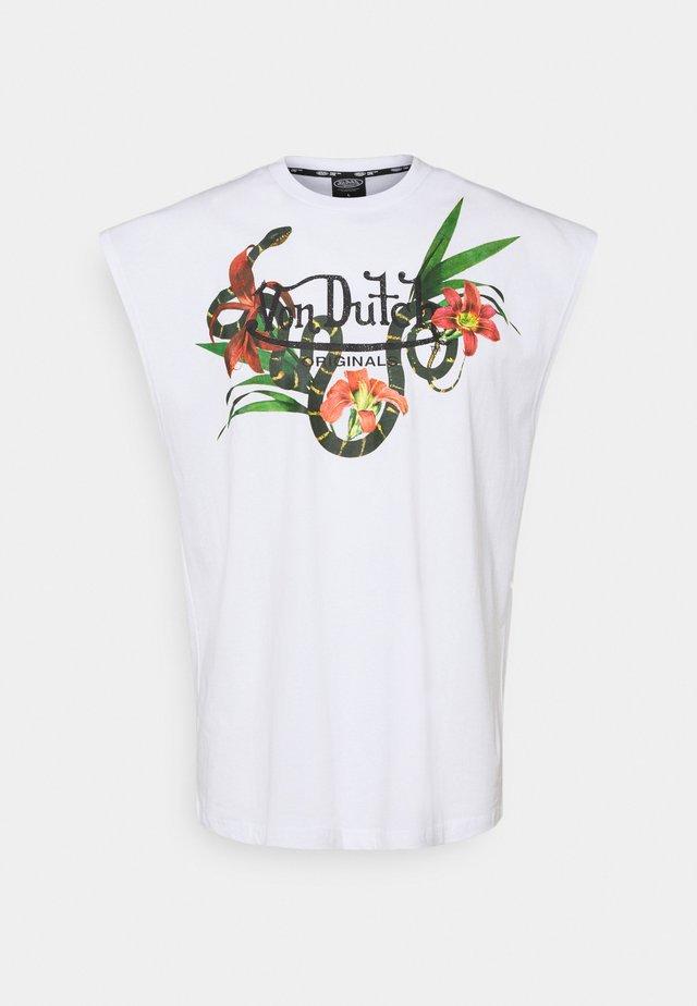 ALI - Print T-shirt - bright white
