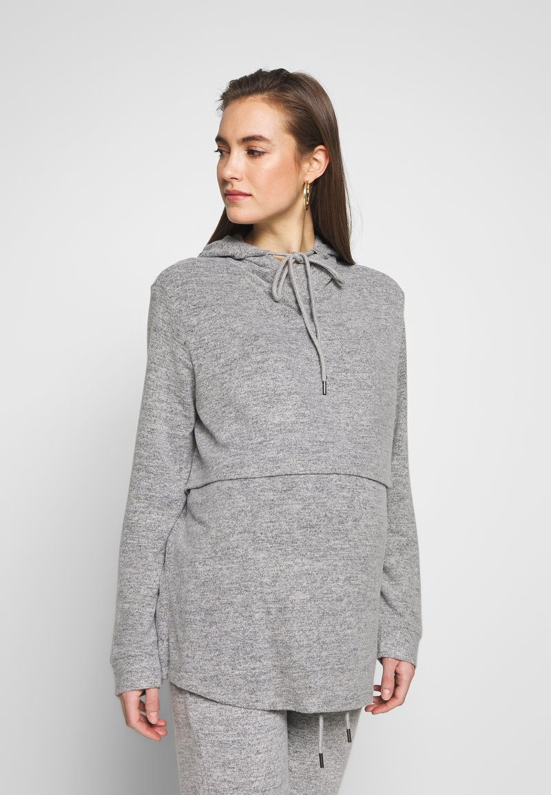 Forever Fit - NURSING HOODIE - Sweatshirt - grey