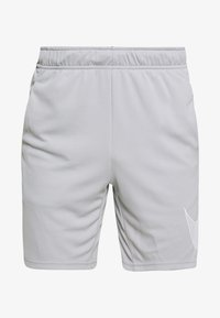 Nike Performance - DRY SHORT  - Pantalón corto de deporte - light smoke grey/white - 4