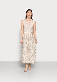 Rich & Royal - DRESS PRINTED - Maxikjole - white stone - 0