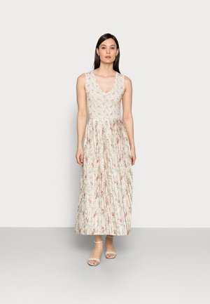 DRESS PRINTED - Vestito lungo - white stone