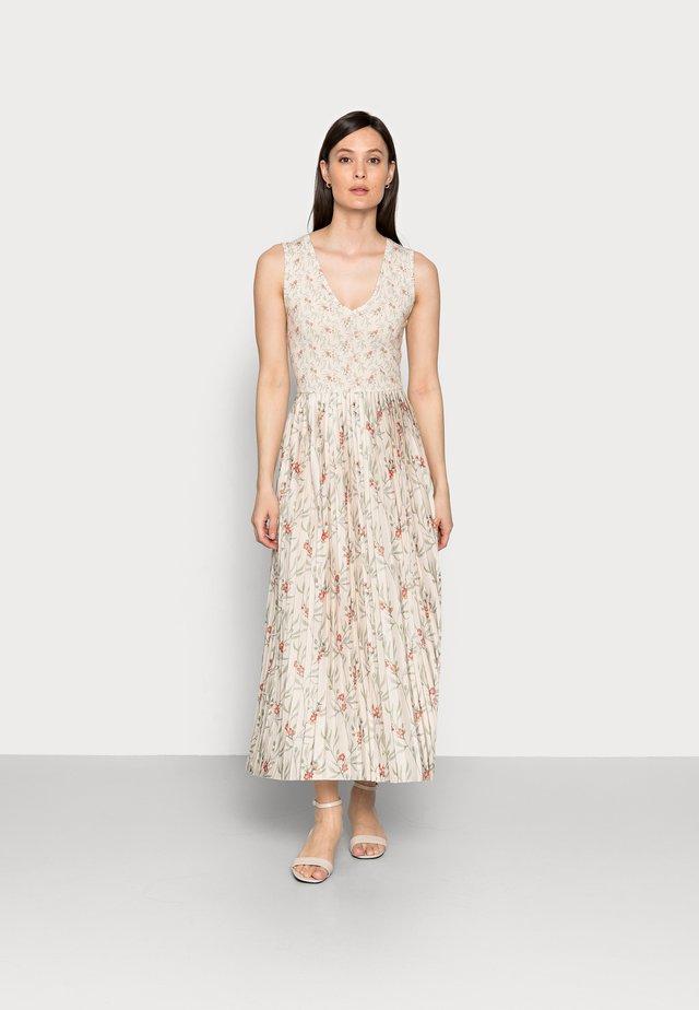 DRESS PRINTED - Długa sukienka - white stone