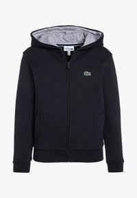 Lacoste Sport - TENNIS - Zip-up hoodie - navy blue/silver chine - 0